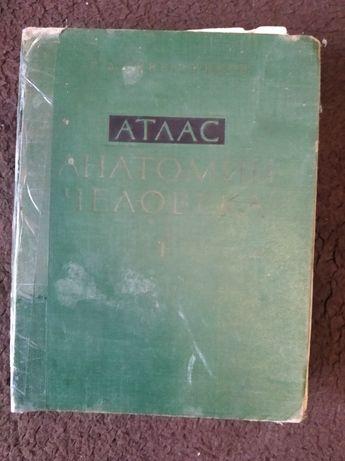 атлас анатомічний 1-2 том