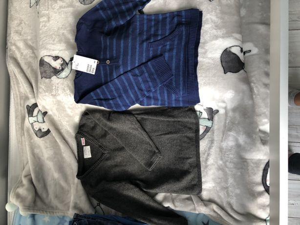 Sweterki Zara i H&M