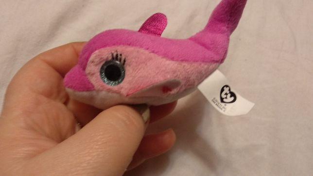 мягкая игрушка рыба рыбка глазастик мелкая розовая дельфин T Y