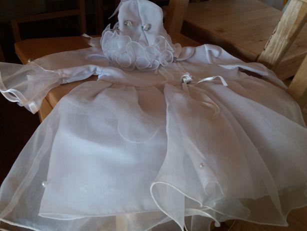 Śliczna sukienka do chrztu