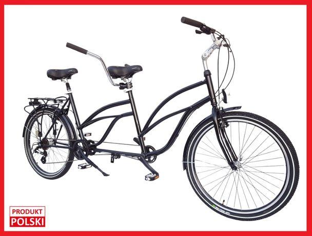 Rower tandem PREMIUM 26' Nowy od producenta - 100% POLSKI