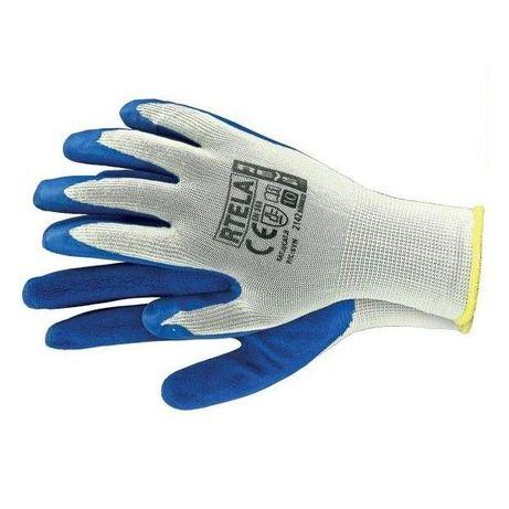 Rękawice robocze gumowane