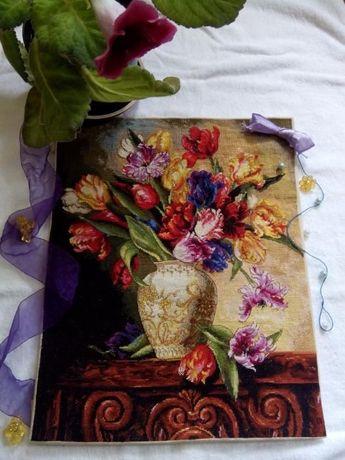 Продам копию схемы Dimensions 35305 Попугайные тюльпаны