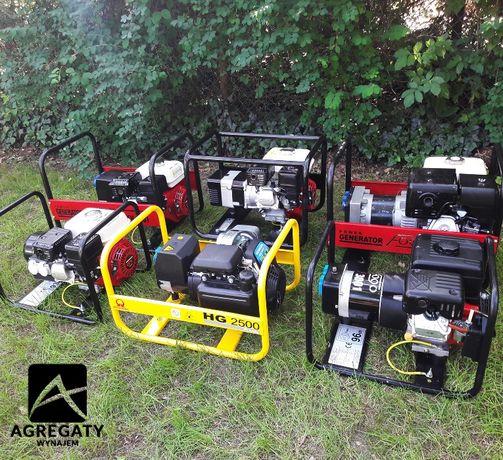 Agregat prądotwórczy, generator prądu, agregat na budowę, remont