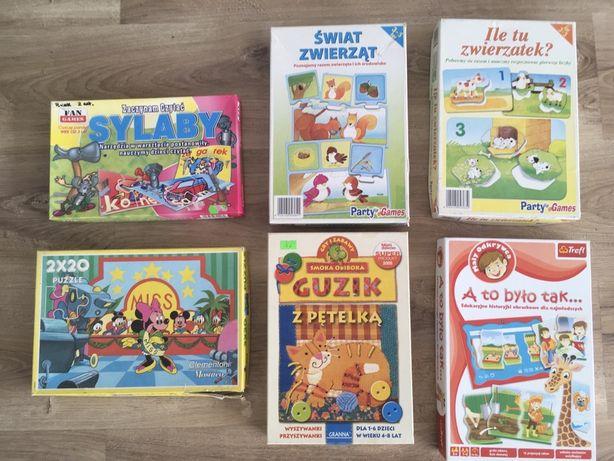 Gry i puzzle dla dziewczynki 3+