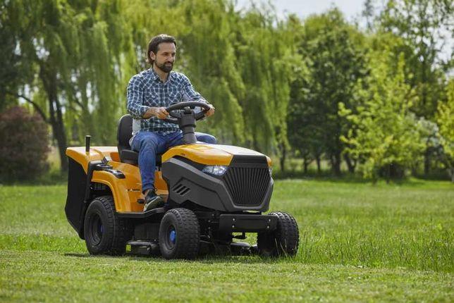 Akumulatorowy traktor kosiarka Stiga e-Ride C500 RATY 20x0%, cichy!