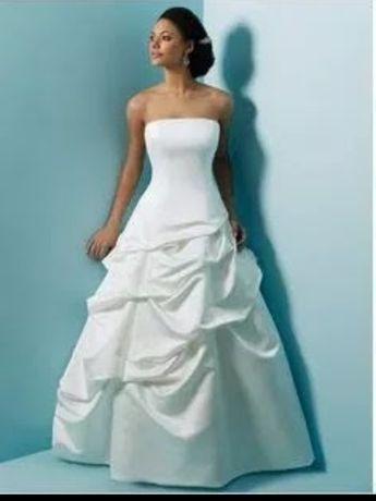 Vestido noiva  assimétrico