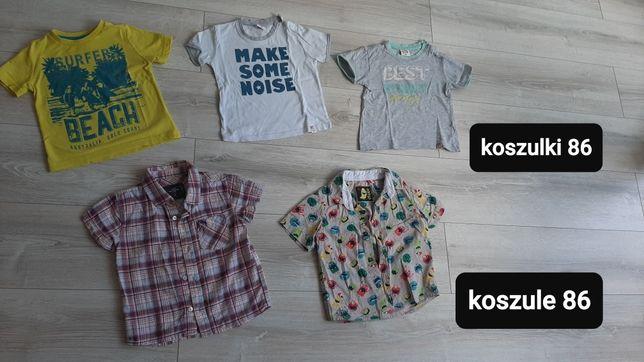 Koszulki, koszule 86