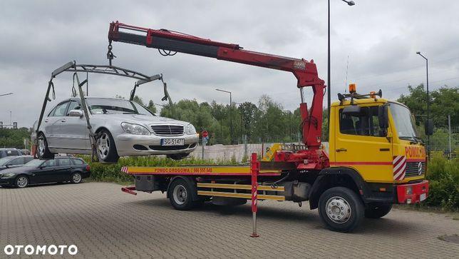 Mercedes-Benz 1317  Specjalny, Laweta, Pomoc Drogowa, Hds, Widły.