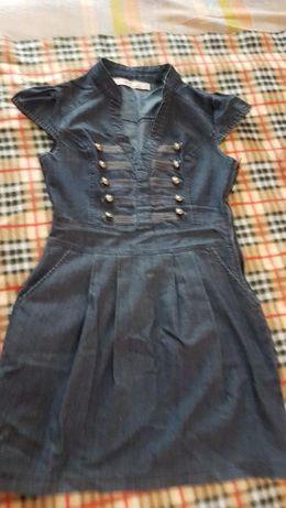Платье джинсовое S
