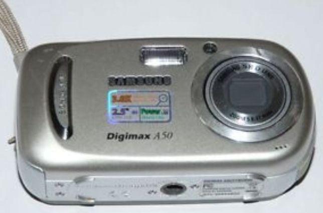 продам цифровой фотоаппарат Samsung Digimax A50