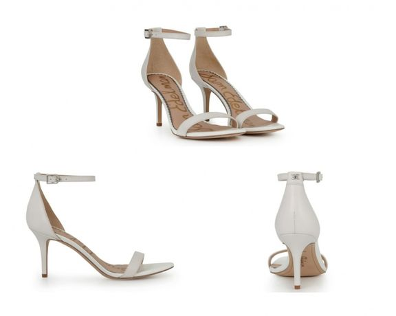 Sandałki białe Boho Sam Edelman dł wkładki: 27cm