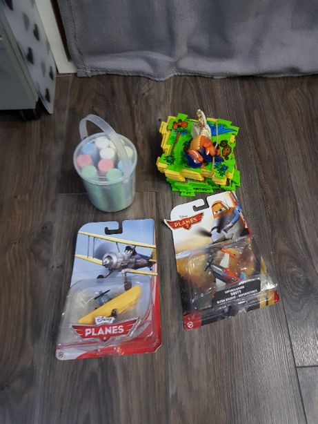Zestaw Play Doh, Samoloty PLANES + bonus dinozaur
