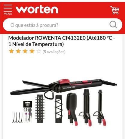 Modelador da rowenta