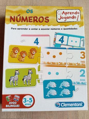 Jogo infantil - Os Números Ed bilingue