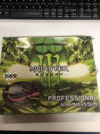 Alarme para Mota monster energy