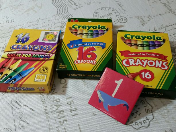 Crayola  кольорові олівці