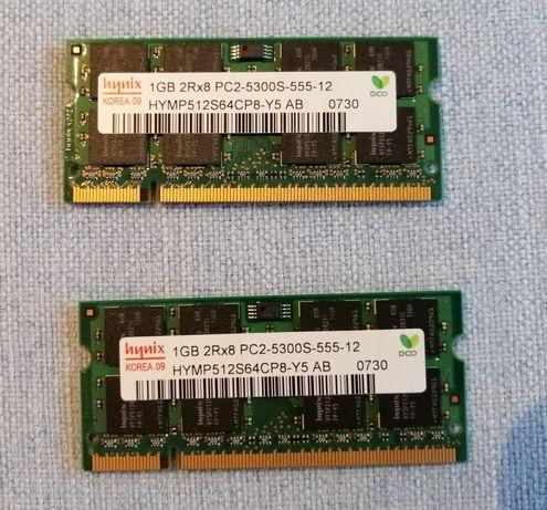 Memória RAM Hynix 1GB 2Rx8