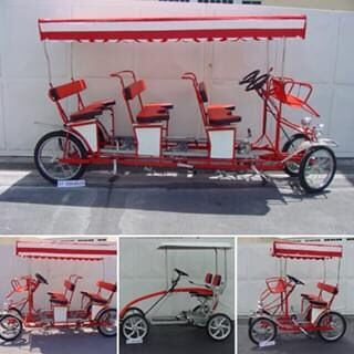 Quadriciclos 2,4,6 Lugares