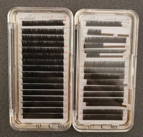 Cashmere Lashes Volume 0.10 i 0.07