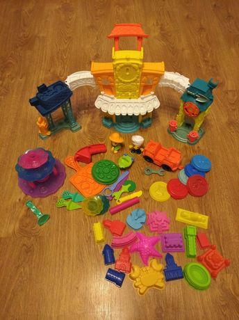 Zestaw Play-Doh i foremki
