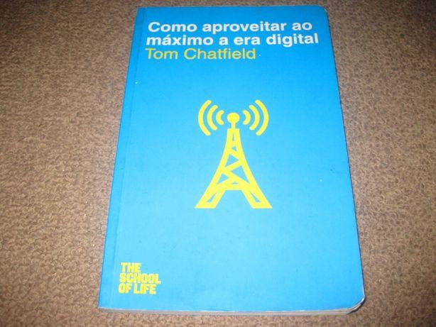 """Livro """"Como Aproveitar ao Máximo a Era Digital"""" de Tom Chatfield"""