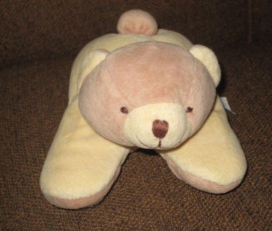 Медвежонок плюшевый. Игрушка- погремушка.