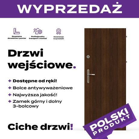 Wyprzedaż drzwi wejściowych