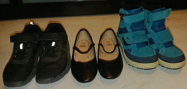Buty dziewczęce - 3 różne pary rozm. 32