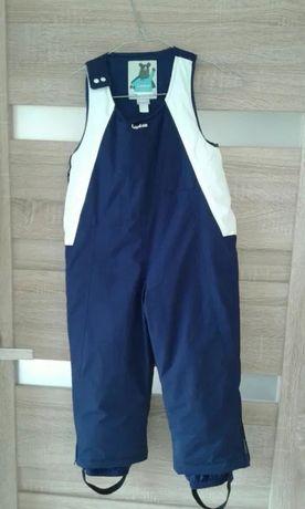 Spodni/ogrodniczki zimowe Wedze 90-98 Decathlon