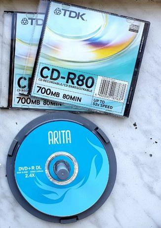 Компакт-диски CD-R, DVD-R