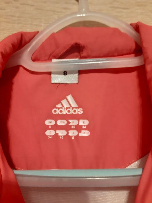 Różowa kurtka adidas Balice - image 1
