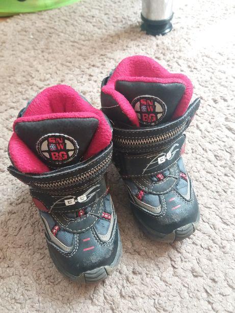 Зимние детские сапоги BG, 23 размер