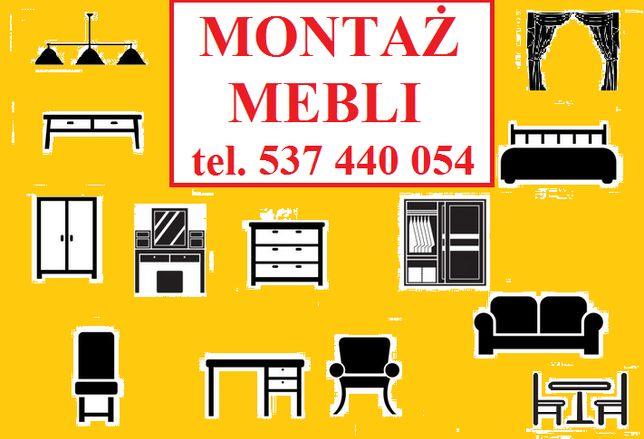 Montaż mebli / składanie mebli / kuchnia IKEA AGATA - wymiana blatów