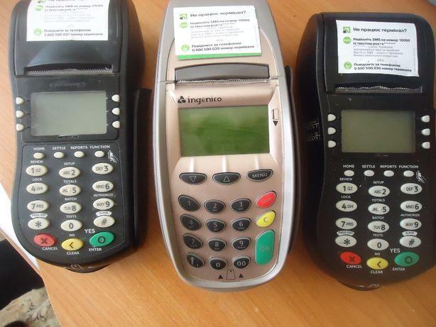 Продам терминалы для банковских карт б/у, без следов пользования, в по