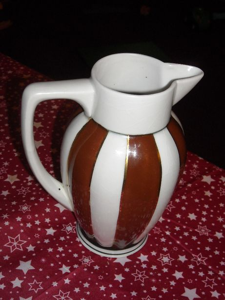 Antigo bule de chá loiça alema CEC Arte Deco