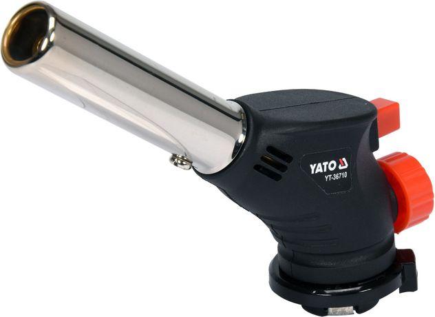 Palnik gazowy do lutowania 360 z piezo YT-36710 YATO