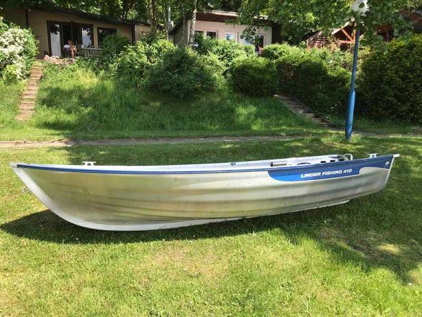 Łódź aluminiowa Linder Fishing 410