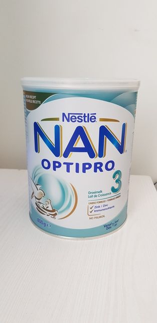 Смесь суміш Nan Optipro 3 с 12 месяцов 800 g Бельгия