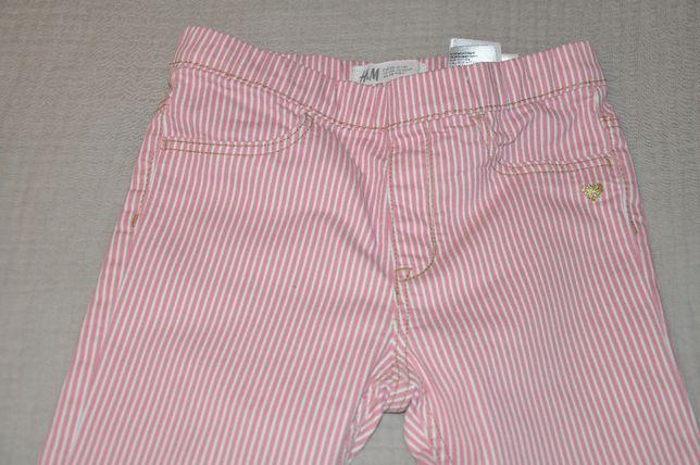 Spodnie dziewczęce H&M rozm. 128