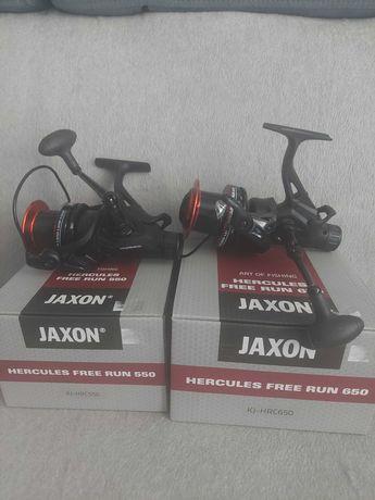 Kołowrotki gruntowe Jaxon Herkules Free Run 650 i550