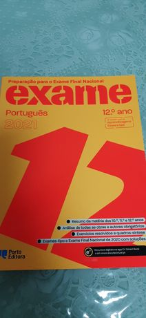 Livro exame português
