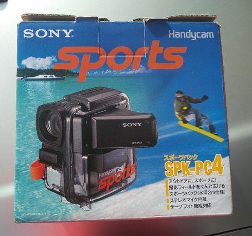 Caixa de mergulho para Handycam da Sony