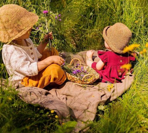 Пляжная туника, пончо из муслина, детская одежда из муслина