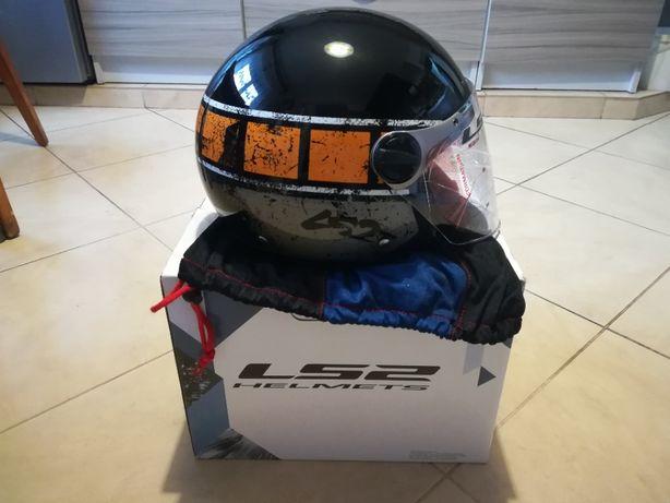 Nowy kask motocyklowy LS2 (M)