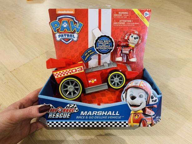 Wyścigówka Mashalla z figurką z bajki Psi Patrol Ready Race Rescue