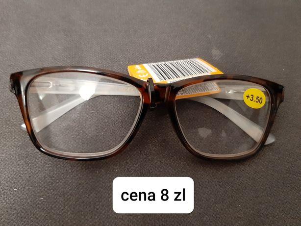 Okulary plus +3.5