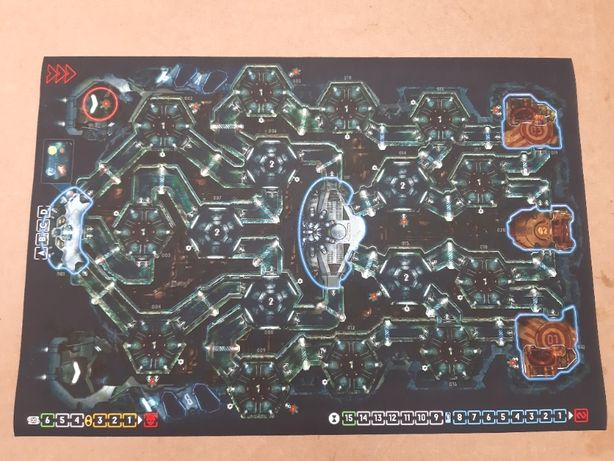 Mata do gry planszowej Nemesis - 84 x 57 cm