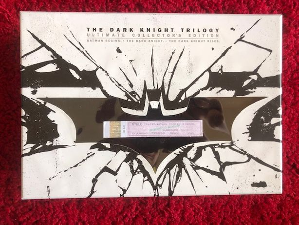 The Dark Knight Trilogy - Ultimate Collector's Edition Blu-ray Novo
