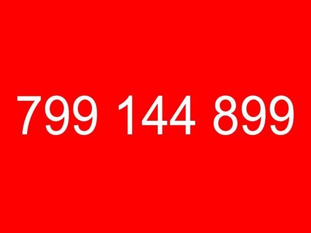 Złoty łatwy numer komórkowy platynowy 799_144_899 cesja